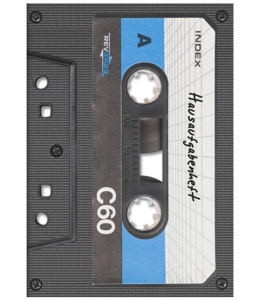 Brunnen Hausaufgabenheft - A5 - Musikkassette