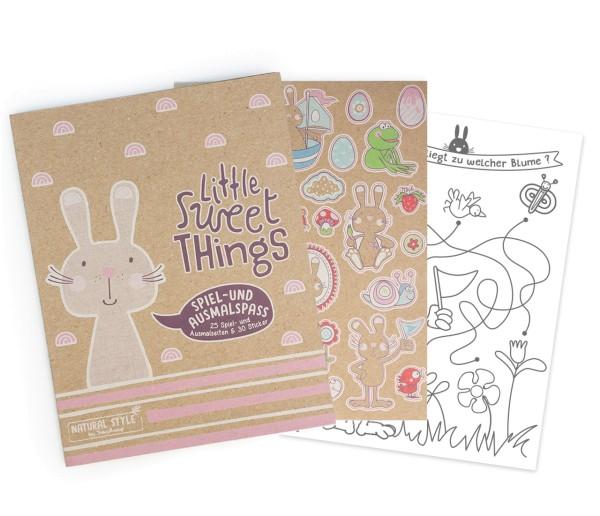 Trendhaus Osterspaß mit Sticker - Malen und Rätseln