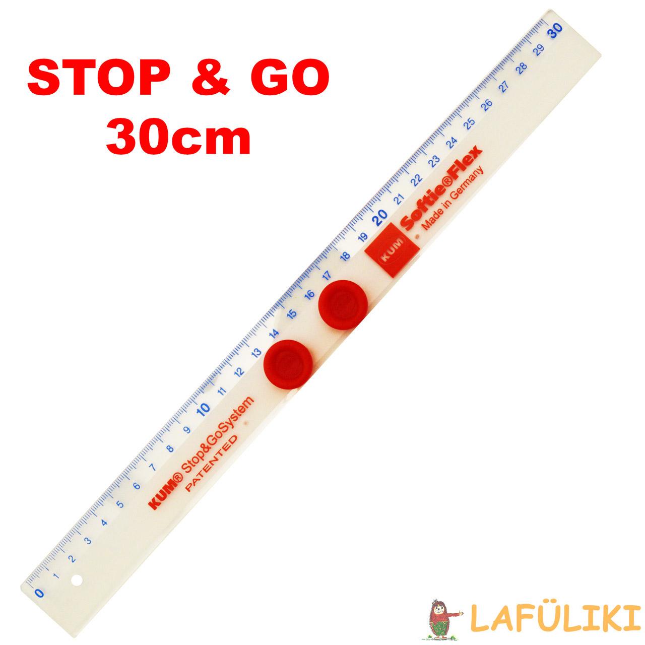 Kum Softie Lineal Flex Stop /& Go System 30 cm