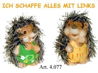 Motivations Igel Erwin und Freundin 7cm
