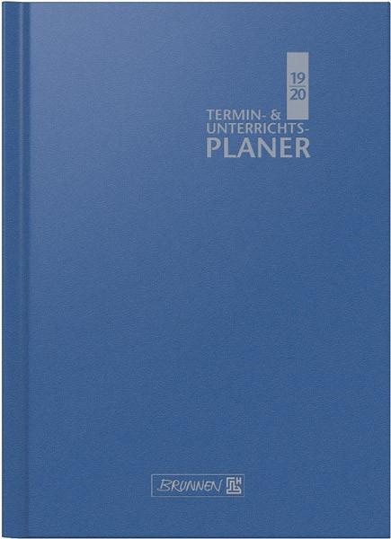 Brunnen Lehrerkalender Schuljahr 19/20 - A4 - blau