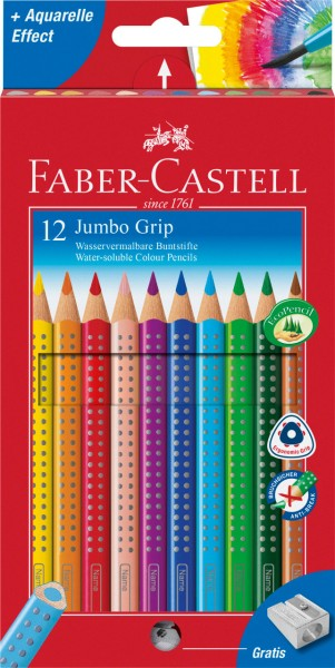 Jumbo Grip Farbstift Noppen 12er Faber