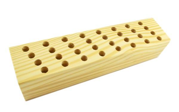 Scherenständer aus Holz für 32 Scheren