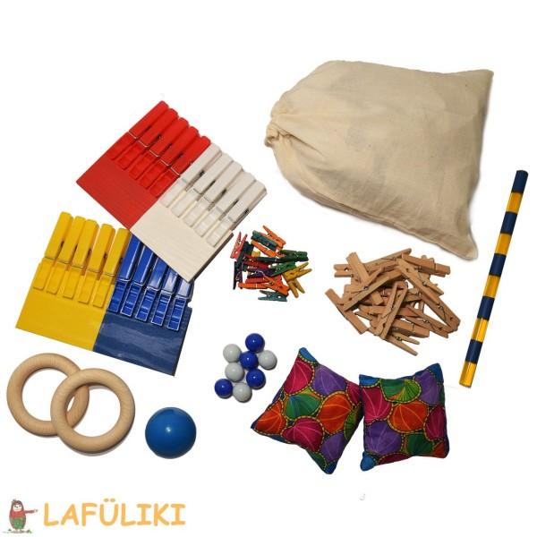 Fingerübungen Material Set zum Buch von Hauke Stehn