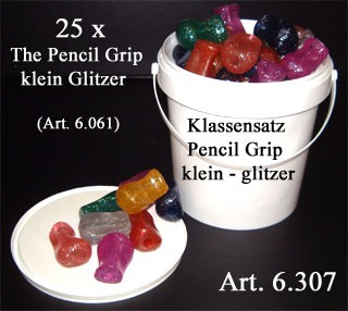 Klassensatz The Pencil Grip mini glitzer