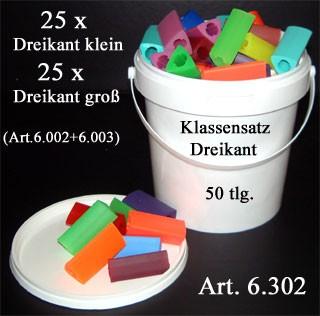 Klassensatz Dreikant Sparset