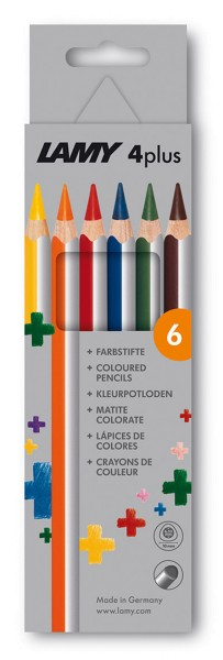 Lamy 4Plus Farbstifte 6er Set