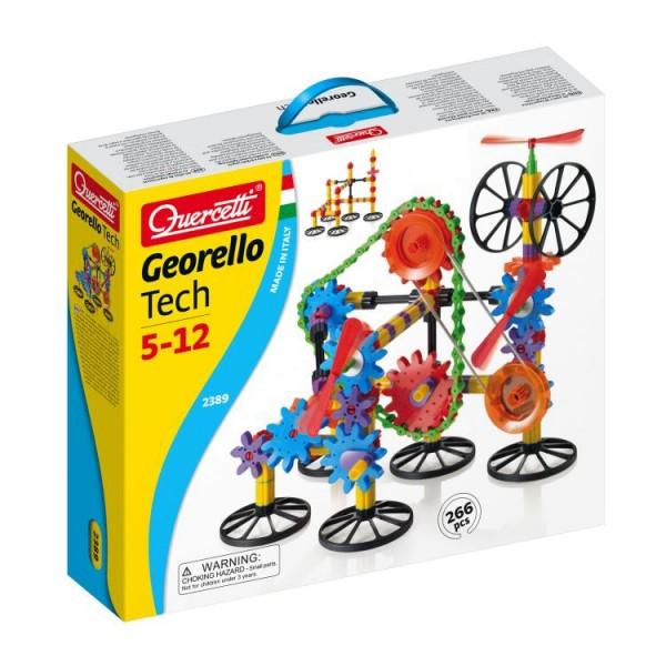 Konstruktionsspielzeug Georello Tech für Linkshänder und Rechtshänder