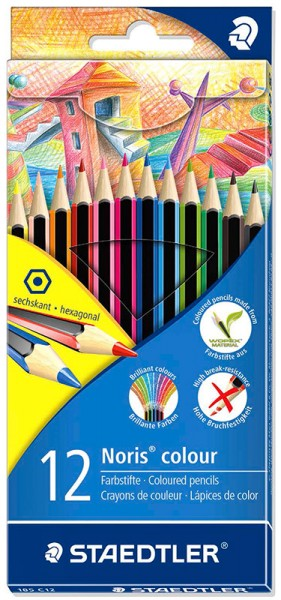 Staedtler Noris Colour 185 Farbstift 12er Set