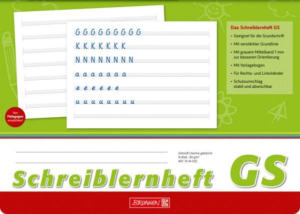 Schreiblernheft - GS - A4 - quer Brunnen