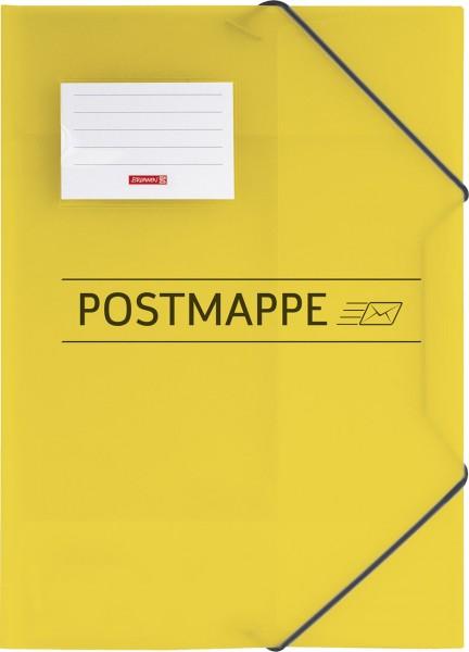 Brunnen Postmappe - A4 - gelb für Schule