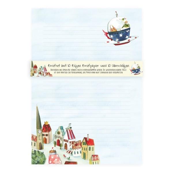 Grätz Verlag Briefset - Floriane Blütenblatt