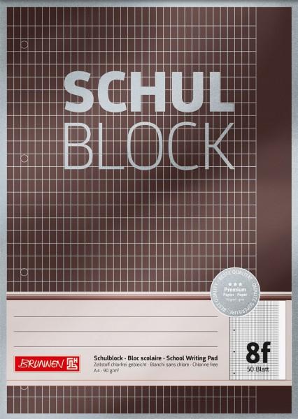 Brunnen Schulblock A4 Premium - Lineatur 8f