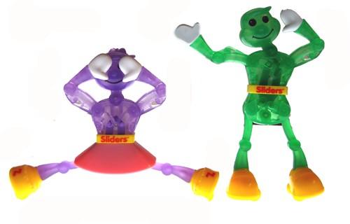 Slider Larry oder Lizzy Aufziehfiguren