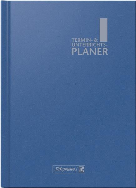 Brunnen Lehrerkalender A4 - blau - Schuljahr