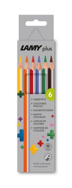 Lamy plus Farbstifte 6er Set