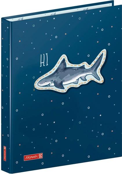 Brunnen Ringbuch - Happy Ocean- Hai A4 40 mm