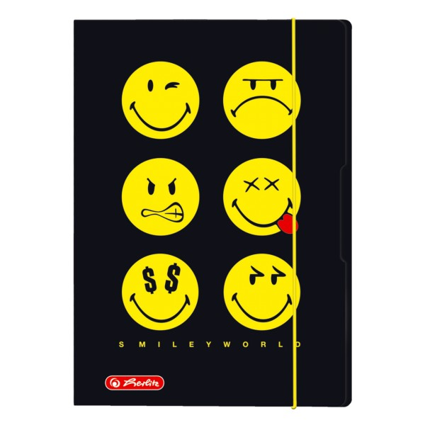 Sammelmappe SmileyWorld Black A4