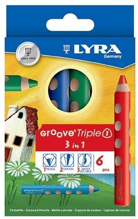 Lyra Groove Triple 1 - 6er Set