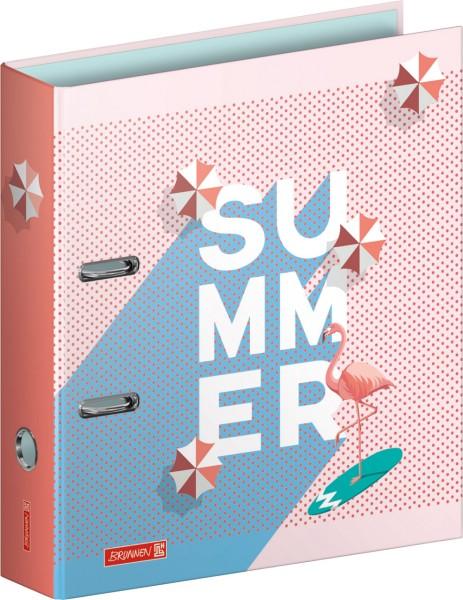 Brunnen Motivordner - Colours of Holiday - A4 80 mm