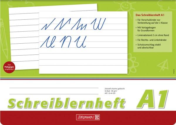 Schreiblernheft - A1 - A4 Brunnen