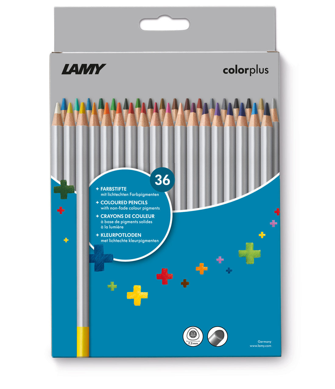 LAMY colorplus Farbstifte 36 Stück