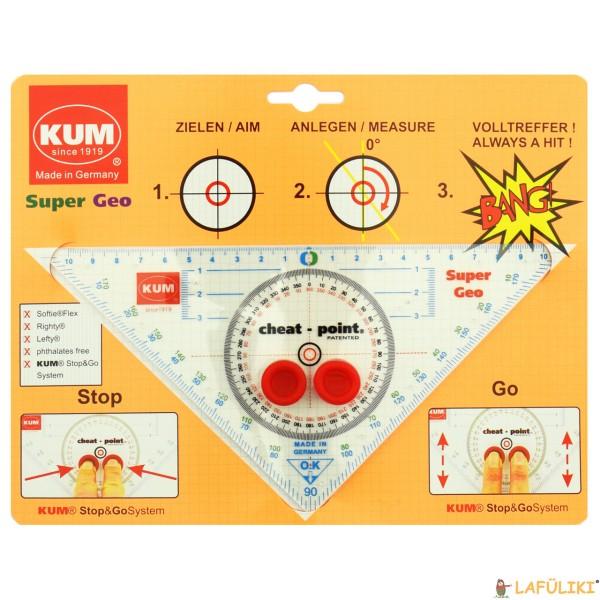Geodreieck Super Geo Stop und Go System, 20 cm