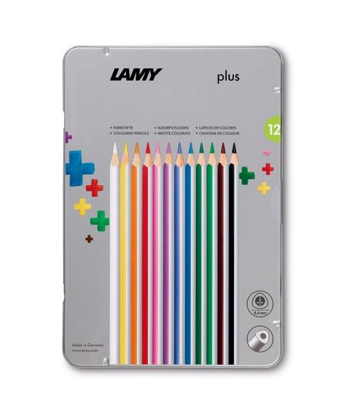Lamy plus Farbstifte 12er Set Metalletui