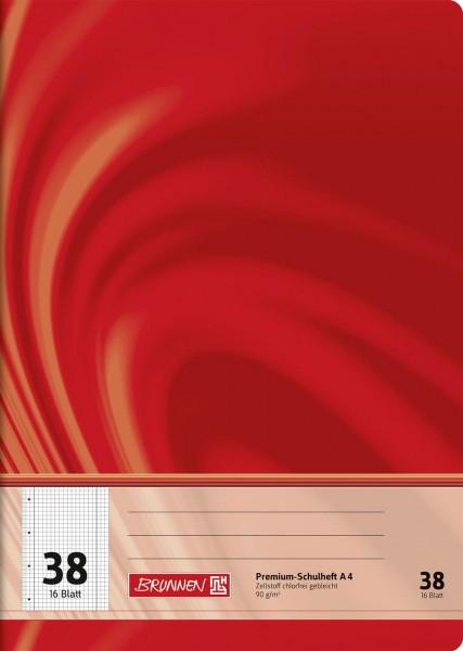 Schulheft A4 Premium Lineatur 38