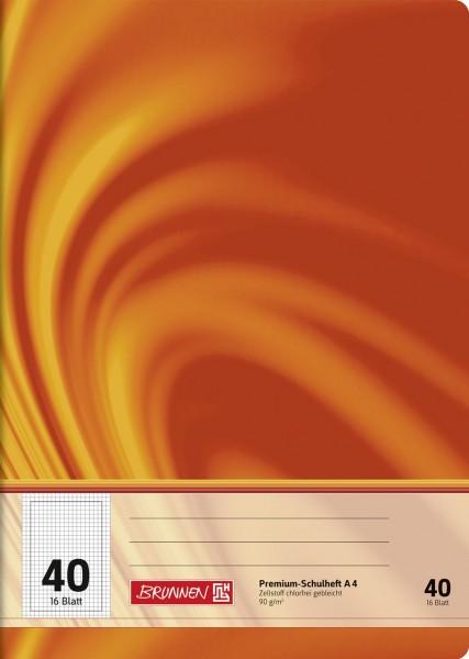 Schulheft A4 Premium Lineatur 40
